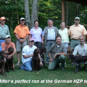 Leica after the perfect day with the 190 score in the HZP